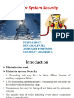 Power System Security_ppt