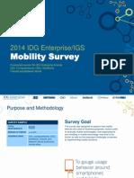 IDGE Mobility Svample Slides