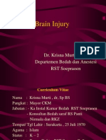 Kuliah Brain Injury Unmuh