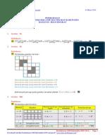 Pembahasan Osn Matematika Smp 2014 Tingkat Kabupaten (Bagian b Isian Singkat)