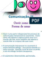 A Comunicação No Casamento - Parte 2