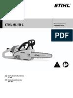Stihl MS 150 C