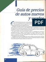 Guia Precios Autos