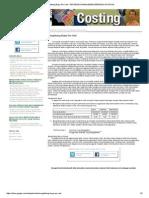 Menghitung Biaya Per Unit - Referensi Manajemen Berbasis Aktivitas