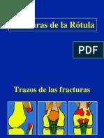 04- Fracturas de La Rotula, traumatologia.