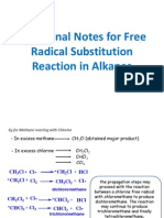 Additional Notes for Alkanes