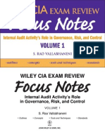 wiley cia exam review focus notes 0470277068 internal audit