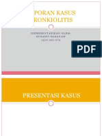 LAPORAN KASUS BRONKIOLITIS