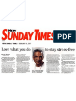 Swamiji - New Sunday Times, Feb 2008