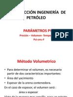 Parámetros PVT