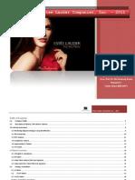 Estee Lauder Inc. 2011 MRIII037-Libre