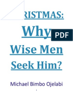 Christmas - Why Wise Men Seek Him