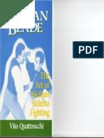 The Sicilian Blade - Art of Sicilian Stiletto Fighting - Vito Ouattrocchi - Desert Publications