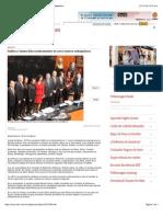 12-12-14 Ratifica Cámara Alta Nombramiento de Once Nuevos Embajadores