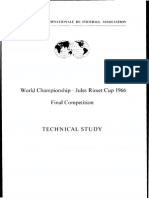 FIFA World Cup 1966 Technical Study