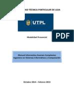 Manual Informativo EC Ing. Sistemas Inform. y Comp