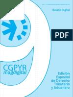 CGPyR Boletín Digital - Derecho Tributario y Aduanero