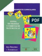 Nuevas Tecnologias y Curriculo de Matemáticas