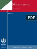 WMO - Manual on Marine Meteorological Services - Volume I - Global Aspects