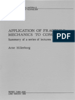 Application of Fracture Emechanics to Concrete Arne Hillerborg