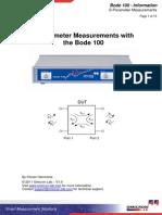 S-Parameter Measurements