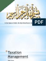 1.Introduction ToTaxation Management