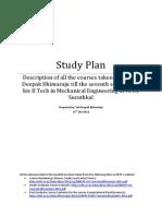 Study Plan for NITK Surathkal