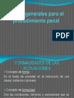 Reglas Generales Para El Procedimiento Penal Tere