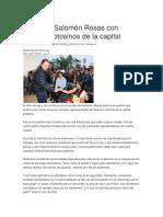 23/12/2014 Salomón Rosas Se Reune Con Jóvenes Potosinos de La Capital