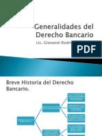 Generalidades Del Derecho Bancario