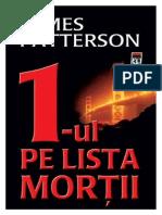 james patterson-1-ul pe lista mortii