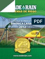 Catalogo Wade Rain America Latina 2012