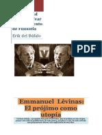 Emmanuel Lévinas-El Prójimo Como Utopía. Del Búfalo