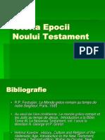 Istoria Epocii Noului Testament