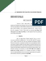 Denuncia Penal Por El Escandaloso Reintegro a La Mamá de CFK Que Hizo El Ioma