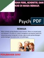 Perkembangan Psikologis Remaja