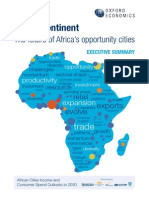 Africa s Top 15 Cities in 2030