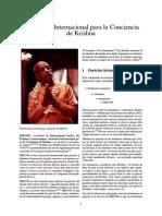 Sectas - Asociación Internacional Para La Conciencia de Krishna