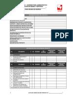 Lista Verificacion Para Recibo Diseños