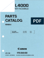 Cfx l4000 Parts