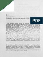 diffusion de loeuvre depuis 1945 m  jutrin maspero 1970