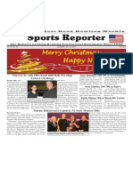 December 24 - 30, 2014 Sports Reporter