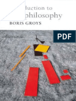 Groys- Introd to Antiphilosophy