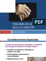 Trauma en El Adulto Mayor
