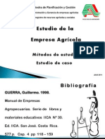 Estudio de La Empresa Diagnostico