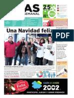 Mijas Semanal, nº 615. Del 24 al 30 de diciembre de 2014
