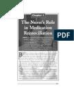 Nurse's Role in Medication Reconciliation