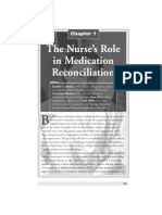 Nurse's Role in Medication Reconciliation