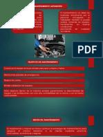 Plan de Mantenimiento Automotriz