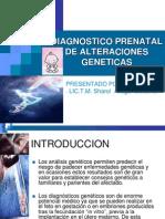 14- Diagnostico Prenatal de Alteraciones Geneticas